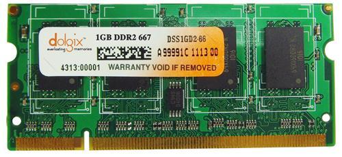 1GB ddr2 667MHz so dimm