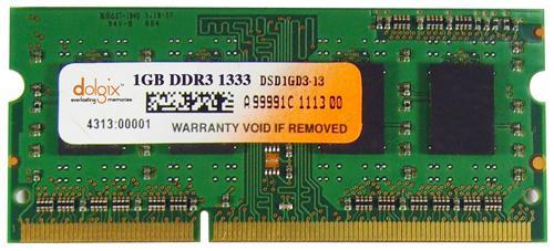 1GB ddr3 1333MHz so dimm